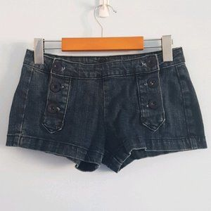 Urban Outfitters Lux sailor jean short shorts